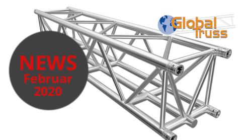 Traverse F45 zur Miete - die sichere Befestigung für Ihre Bühnentechnik bei 3p productions