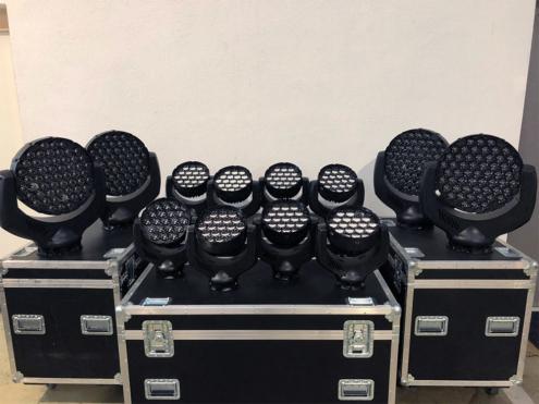 Lichtanlage im Verleih für Firmenfeier - 3p productions