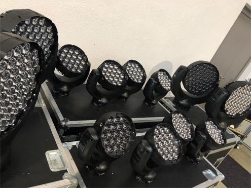 Lichtanlage im Verleih für Event - 3p productions