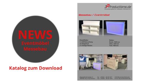 Eventmöbel und Messemöbel Katalog zum Download - 3P Productions