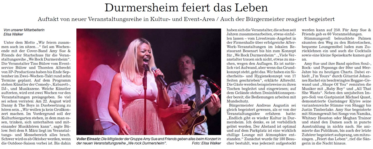 Amy Sue & Friends- we-rock-durmersheim 3p productions