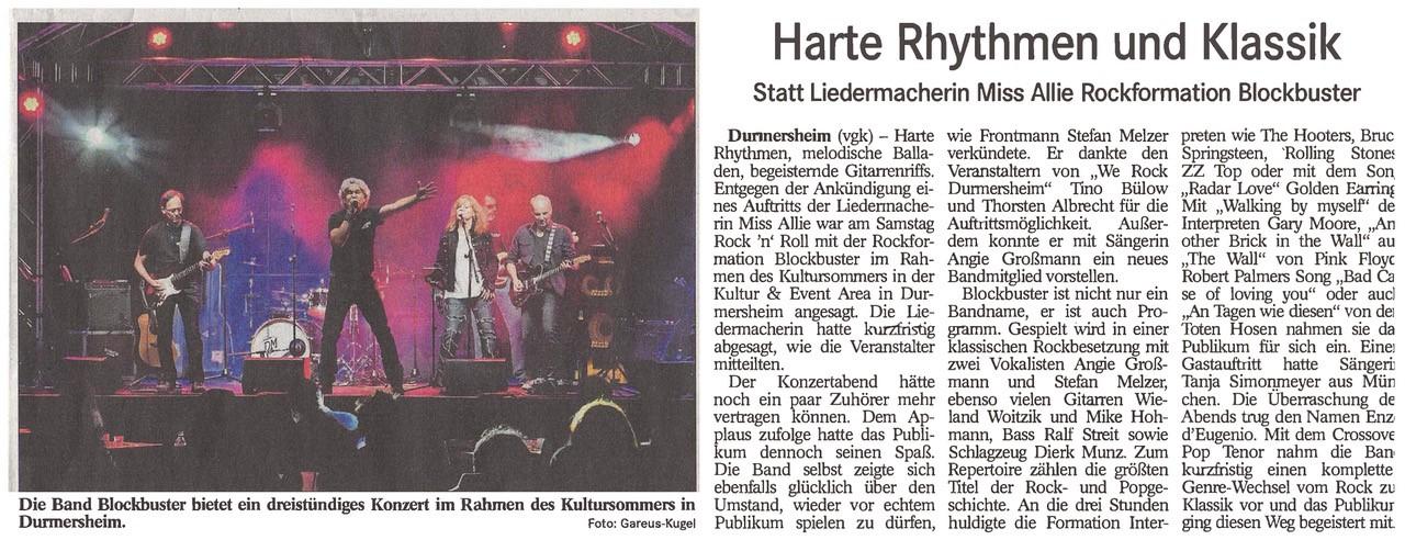 Blockbuster - we-rock-durmersheim - 3p productions