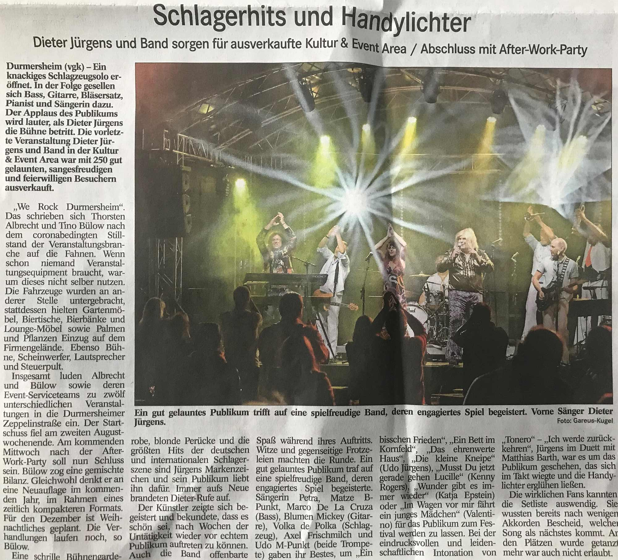 Dieter Jürgens and Band - we-rock-durmersheim - 3p productions